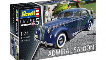 Luxury Class Car Admiral Saloon - Revell