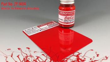 Coca Cola New Red Paint 60ml - Zero Paints