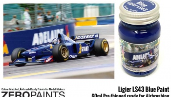 Ligier LS43 Blue Paint 60ml - Zero Paints