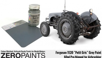 "Ferguson TE20 ""Petit Gris"" Grey Paint 60ml - Zero Paints"