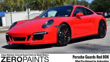 Porsche Guards Red 80K - Zero Paints
