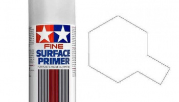 Fine Surface Primer White - Tamiya
