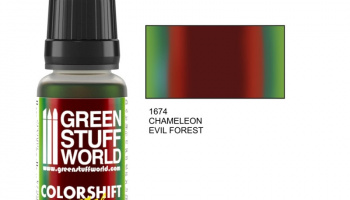 Chameleon EVIL FOREST - Green Stuff World