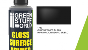 Gloss Surface Primer 60ml - Black - Green Stuff World
