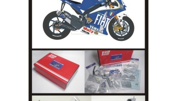 Yamaha YZR M1 Super Detail Set (Catalyuna) 2008 - Top Studio