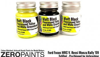 Ford Focus WRC V. Rossi Monza Rally '09 - Paint Set - Zero Paints
