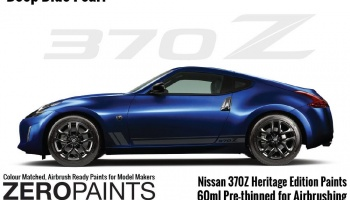 Nissan 370Z Heritage Edition Deep Blue Pearl Paints 60ml - Zero Paints