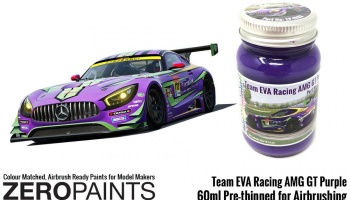 Team Eva Racing AMG GT Purple Paint 60ml - Zero Paints