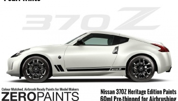 Nissan 370Z Heritage Edition Pearl White Paints 60ml - Zero Paints