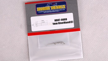 1mm Rivet Head C-Hobby Design