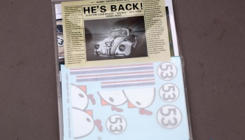 "1/24 VW 1300  Beetle  ""Herbie"" - Hobby Design"