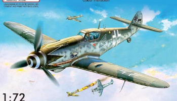 1/72 Bf 109G-10 Erla early, block49XX
