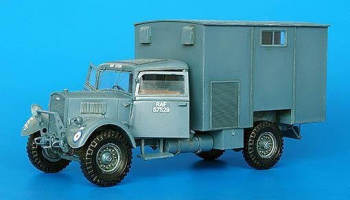 1/35 British truck 1 ½ ton WOT 3 Workshop