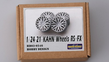 1/24 21' KAHN Wheels RS-FX - Hobby Design