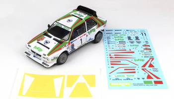 Lancia Delta S4 Jolly Club - Decalcas