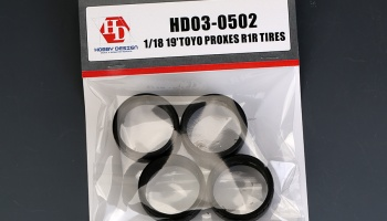 Toyo Proxes R1R Tires 19´ 1:18 - Hobby Design
