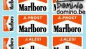 Marlboro for early 90's Ferrari F1 (N.Mansell, A.Prost, J.Alesi) 1/20 - MSM Creation