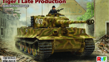 Tiger I Late Production 1/35 - RFM
