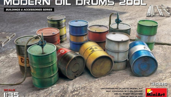 1/35 Modern Oil Drums (200l)
