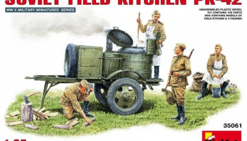 1/35 Soviet Field Kitchen KP-42