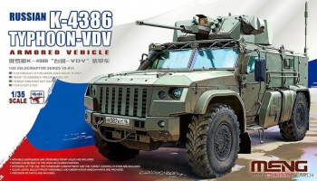 Russian K-4386 Typhoon-VDV Armored Vehicle 1/35 – Meng