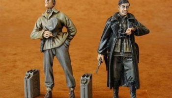 1/35 German Railwaymen WWII (2 fig.)