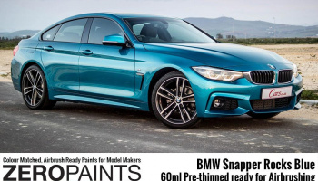 BMW Snapper Rocks Blue Pearl Paint 60ml - Zero Paints