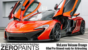 McLaren Volcano Orange Paint 60ml - Zero Paints