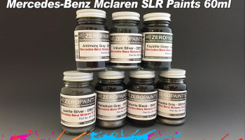 Mercedes,  McLaren SLR Picotite Black Metallic - Zero Paints