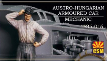 1/35 Austro-Hungarian Armoured Car Mechanic