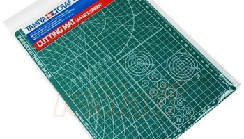 Cutting Mat A4 Green - Tamiya