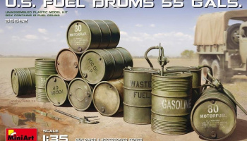 1/35 U.S. Fuel Drums (55 Gals.)