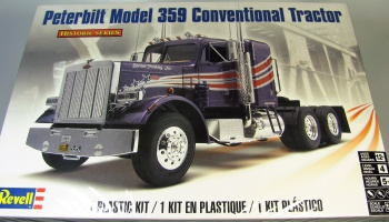 Peterbilt Model 359 Conventional Tractor Revell 11506-1//25 Historic Series