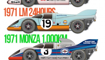 Porsche 917K Full Detail Kit - Model Factory Hiro