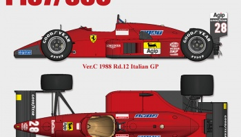 Ferrari F187 / F187/88C - Model Factory Hiro