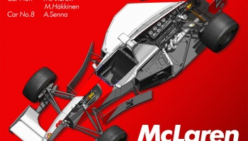 McLaren MP4/8 Full Kit - Model Factory Hiro