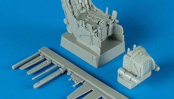 1/32 Su-27 ejection seat with safety belts