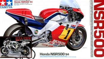 Honda NSR500 84 Full View (1:12) Model Kit - Tamiya
