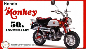 Honda Monkey 50th Anniversary 1/12  - Fujimi