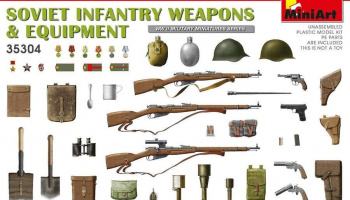 1/35 Soviet Infantry Weapons and Equipment. Special Edition