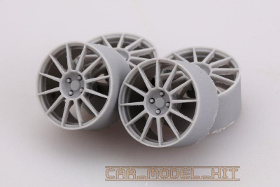 17' Sports Wheels For Fiat 500 Abarth - Hobby Design