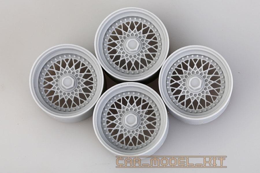 18' BBS RS Wheels 1/18 - Hobby Design | Car-model-kit com