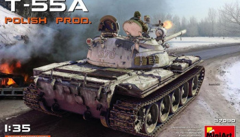 1/35 T-55A POLISH PRODUCTION