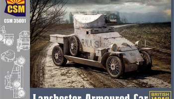 Lanchester Armoured Car 1/35 - Copper State Models