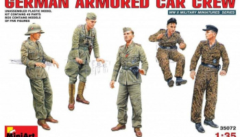 1/35 German Armoured Car Crew