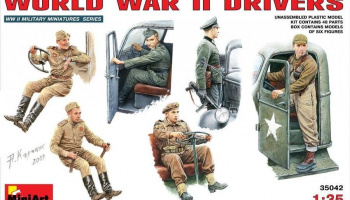 1/35 WW II Drivers