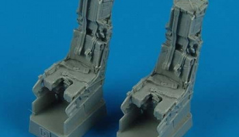 1/48 F-14D Tomcat ejection seats with safety belts