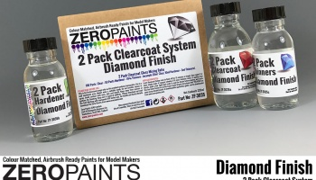 Diamond Finish - 2 Pack GLOSS Clearcoat System (2K Urethane) 220ml - Zero Paints