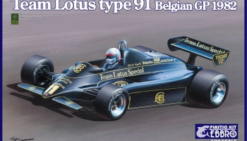 Team Lotus Type 91 Belgian GP 1982 - Ebbro