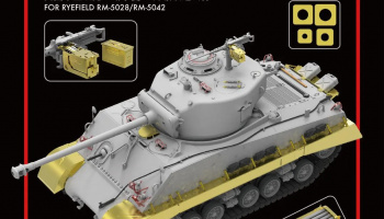 Upgrade Solution for U.S. M4A3 76W HVSS Sherman for RM-5028/RM-5042 1/35 - RFM